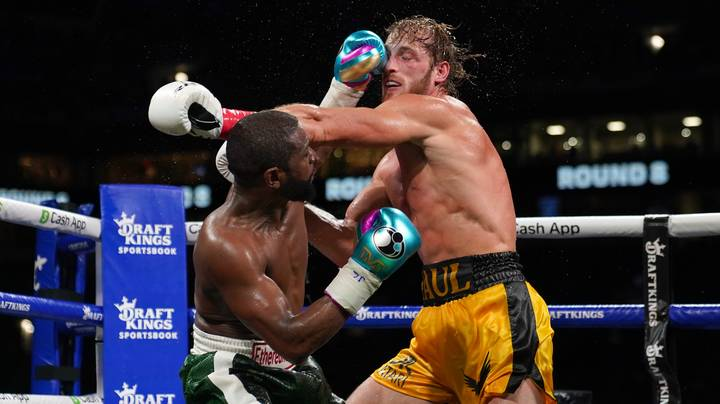 Logan Paul Only Landed 28 Punches In Eight Rounds With Floyd Mayweather Jr.