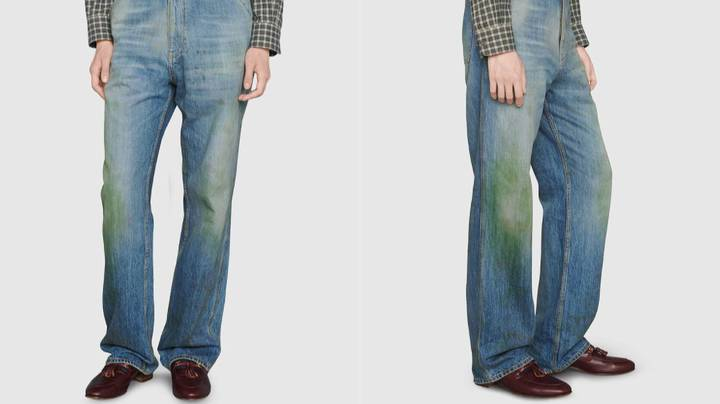 Gucci Is Selling Jeans With Fake Grass Stains For $1,650
