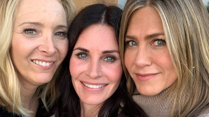 Courtney Cox Celebrates 55th Birthday With Co-Stars Of Friends