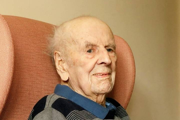 The Secrets To A Long Life - According To Britain's Oldest Man
