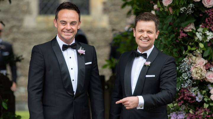 Ant And Dec Win Best Presenters At National Television Awards
