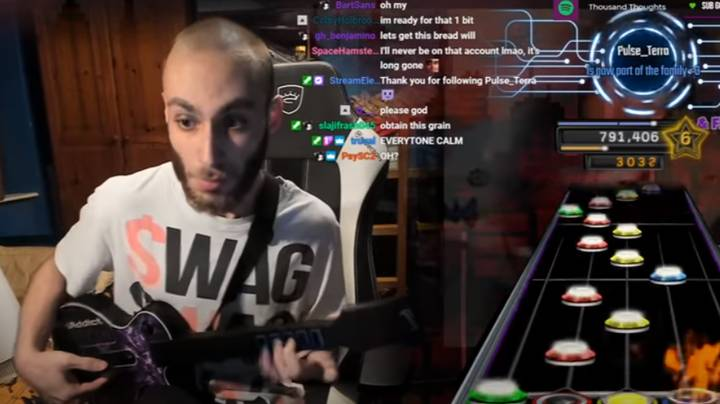 Gamer Nails Through The Fire And The Flames On Guitar Hero At Record Speed