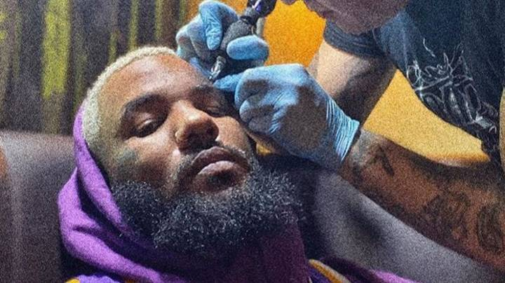 Rapper The Game Honours Kobe Bryant With New Face Tattoo
