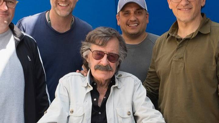 Russo Brothers Share Picture Of Stan Lee From His Endgame Cameo
