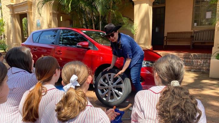 Sydney School Offers Year 11 Girls Essential Car Maintenance Lessons