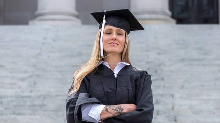 Ex-Addict Shares Her Transformation As She Graduates From University