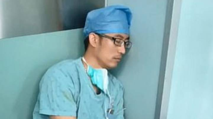 Surgeon Carries Out Seven Operations Without A Break Before Sleeping On Floor