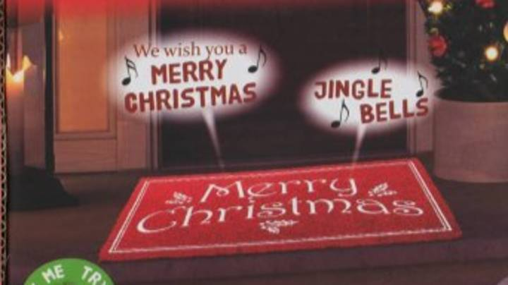B&M Is Selling A Festive Musical Doormat Sensor