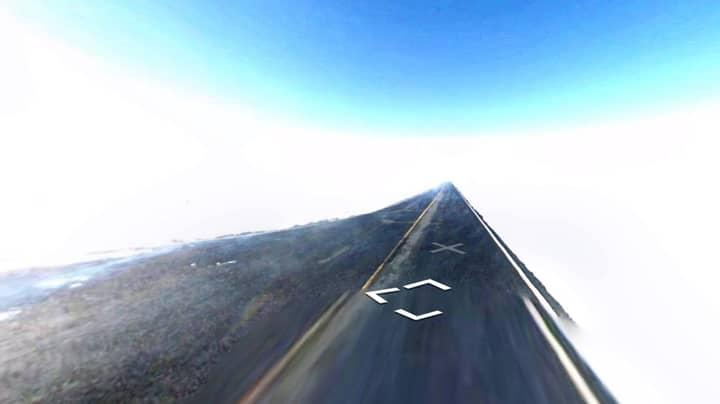 Google Maps Users Spot 'Road To Heaven' In Arizona