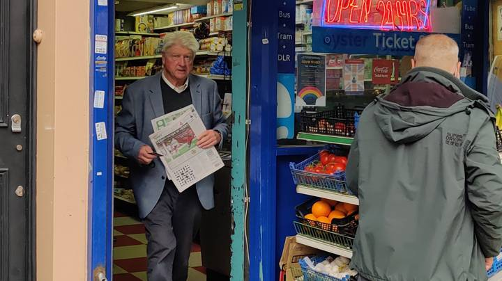 Stanley Johnson Seen In Shop Without A Face Mask