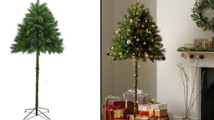 Argos Is Selling These 'Parasol Christmas Trees' For Cat Owners