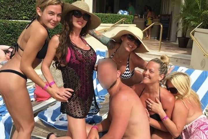 Lad Goes On Holiday With His Mum, Ends Up Partying With Five Porn Stars