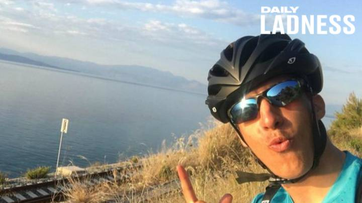 Student Cycles 2,000 Miles From Aberdeen To Athens To Family Home