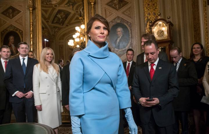 Melania Trump Was Trying To Win A Competition Yesterday Apparently