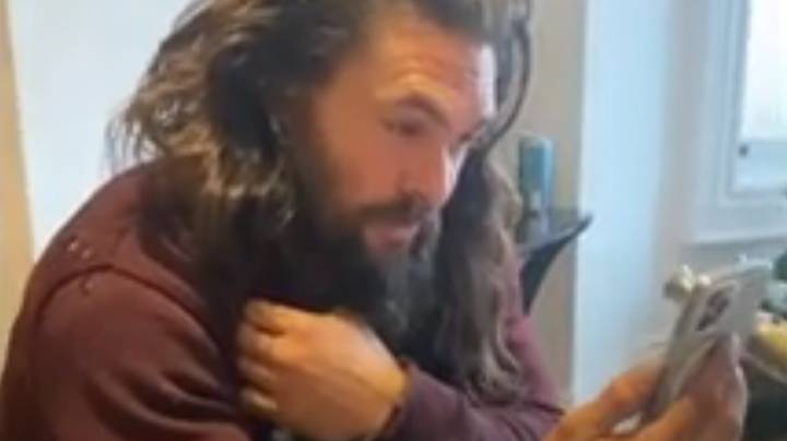 Jason Momoa Video Calls With Young Aquaman Fan With Cancer