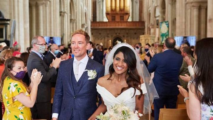 Simon Thomas Marries Girlfriend Derrina Jeb Four Years After His First Wife's Death
