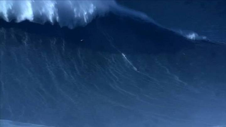 Surfer LAD Breaks World Record For Riding The Biggest Ever Wave
