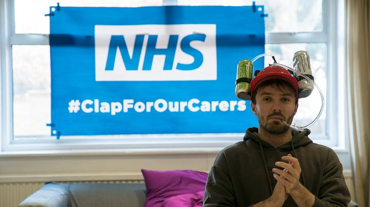 This LAD Is Clapping For 24 Hours To Raise Money For The NHS