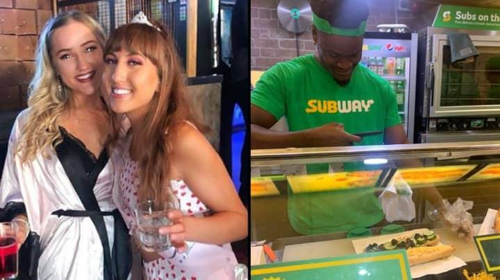 Women's Drunken Subway Order Is So Weird Worker Takes Pic Of It