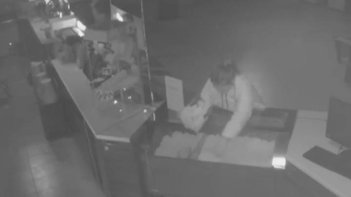 Couple Break Into Cinema, Help Themselves To Popcorn And Then Have Sex