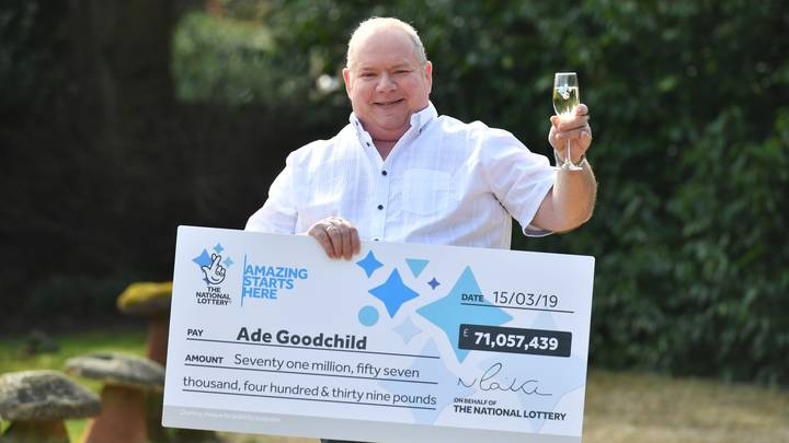 Factory Worker Wins £71m On Lottery And Celebrates With Chicken Wings