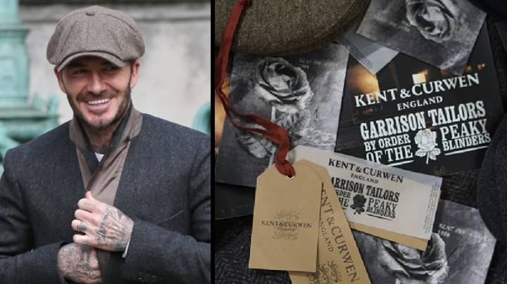 David Beckham's Fashion Label Collaborates With 'Peaky Blinders' On New Clothing Line
