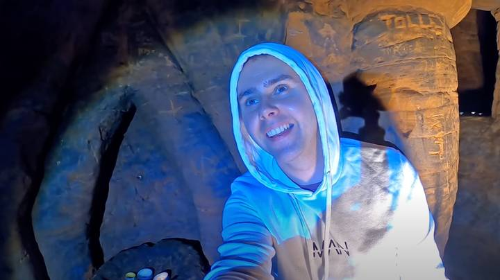YouTuber Claims He's Found Secret 'Knights Templar' Caves In Woods