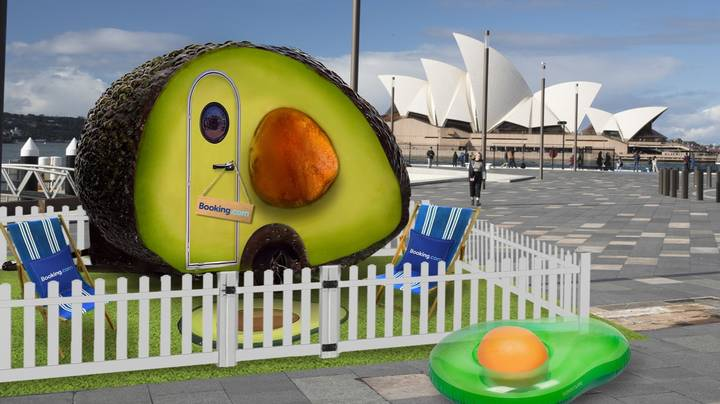 An Avocado Hotel Room Is Opening Up In Australia