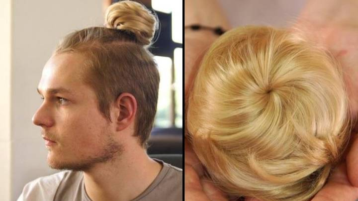 Just When You Thought It Was Over, Clip-On Man Buns Are Now A Thing