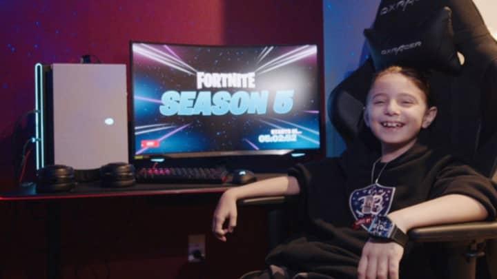 World's Youngest Professional Fortnite Gamer, Eight, Awarded £23,600 Bonus