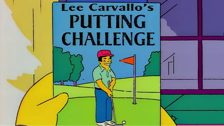 Developer Has Actually Made Lee Carvallo's Putting Challenge From The Simpsons