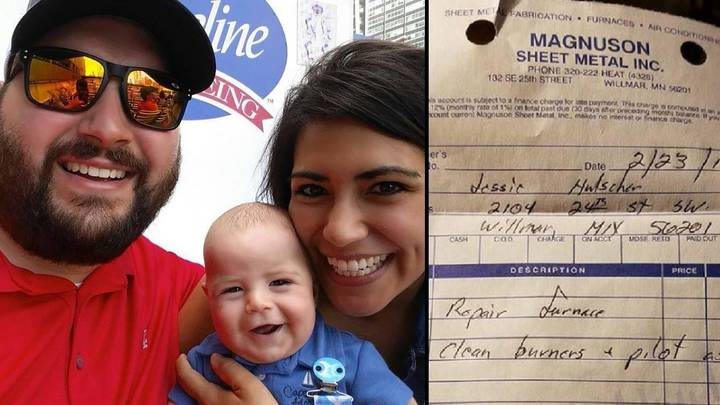 Heartwarming Act Of Kindness By Boiler Repair Company For Parents Of Newborn