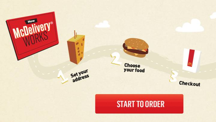 McDonald's Launches Delivery Service For Certain Places In The UK