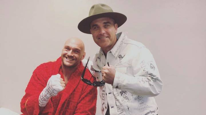 Robbie Williams Has Recorded A Christmas Song With Tyson Fury