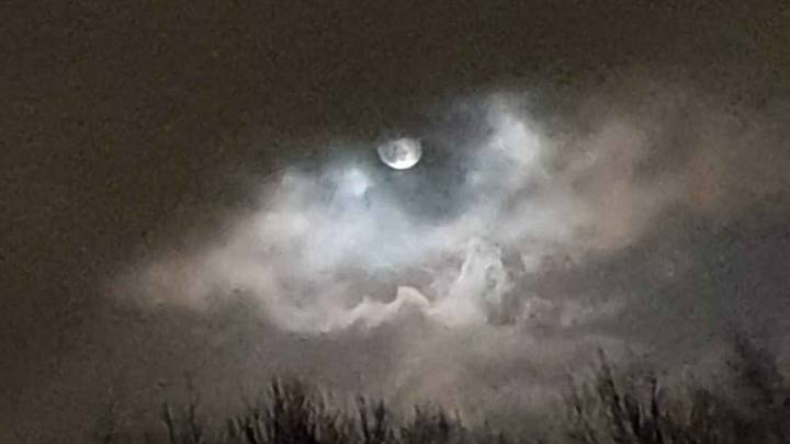 Woman Captures Perfect 'Eye Of The Storm' Snap In Storm Ciara Aftermath
