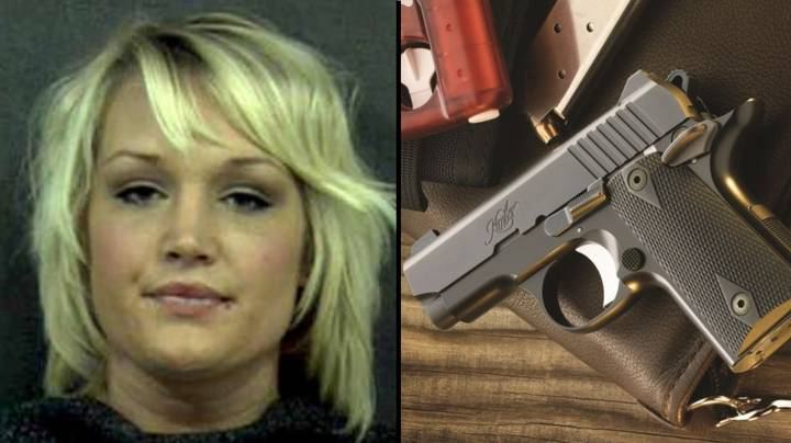 Woman Found With Loaded Gun Inside Her Vagina At Traffic Stop