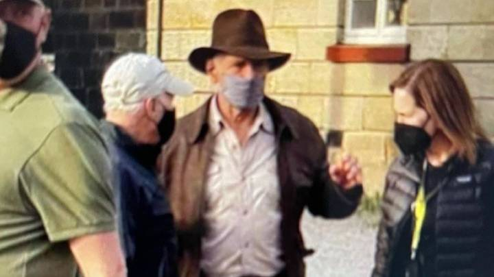 Harrison Ford Seen In Indiana Jones Costume For First Time In More Than A Decade