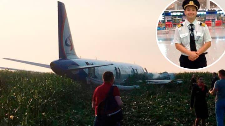 Hero Pilot Makes Emergency Crash Landing As Engine 'Caught Fire'