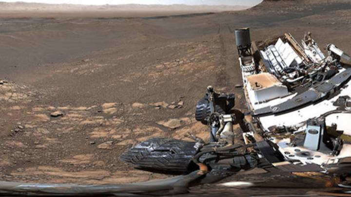 NASA's Curiosity Mars Rover Captures Its Highest-Resolution Panorama Yet