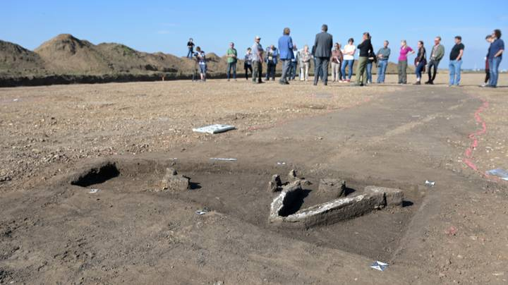 Ancient Germanic Lord's 1,500 Year Old Burial Site Discovered In Germany
