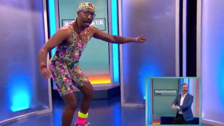 Viewers Shocked By Mr Motivator's 'Whip The Horse' Workout Routine