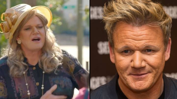 Gordon Ramsay Disguises Himself As Woman For New Cooking Show