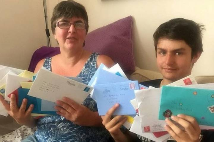Autistic Lad Receives Thousands Of Birthday Cards After Telling His Mum He 'Had No Friends'