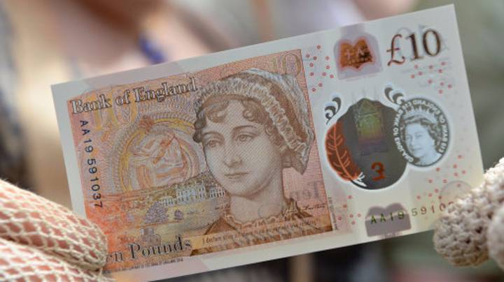Rare New £10 Note Sells For £7,200 At Charity Auction
