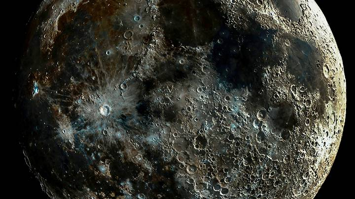 Photographer Creates 'Impossible' Image Of The Moon's Surface