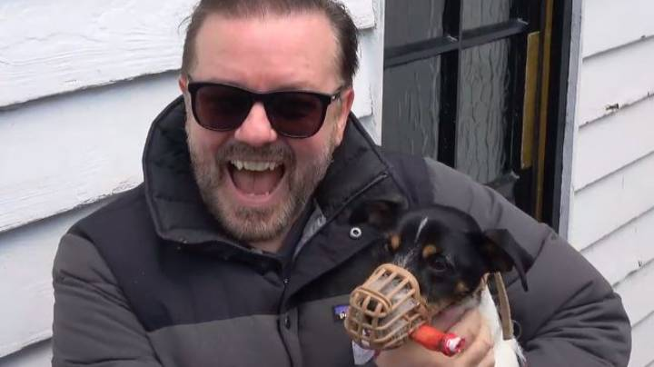 Ricky Gervais Attends Halloween Dogs Event In London
