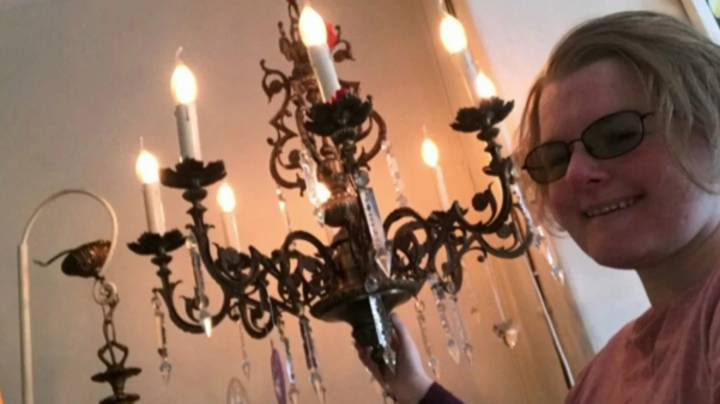 Woman Announces Plans To Marry 93-Year-Old Chandelier Named Luminere
