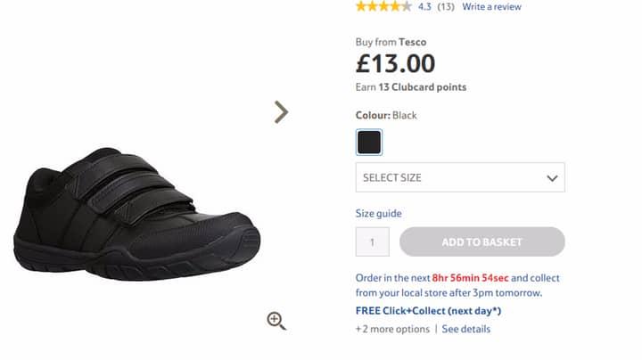 Teacher Furious Over Tesco Selling 'Sexist' Shoes