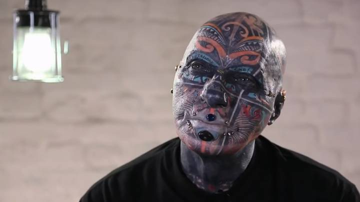 OAP Has 98 Percent Of His Body Covered In Tattoos