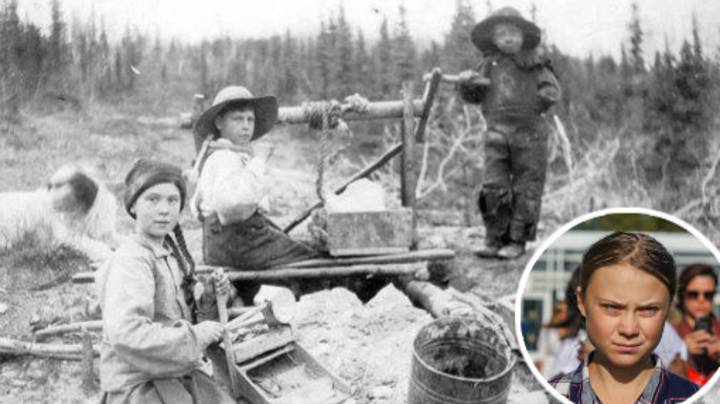 Conspiracy Theorists Claim Greta Thunberg Is A Time Traveller From 1898